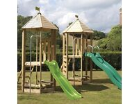 TP Castlewood Tower with Wavy Slide RRP £449.98