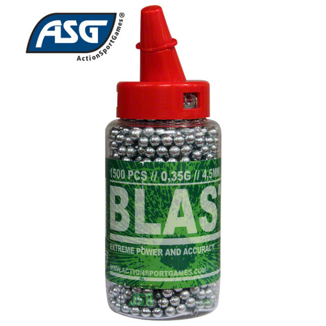 ASG Blaster 4.5mm / .177 Quality steel BB For Air Co2 Gun Rifle Pistol - 1500