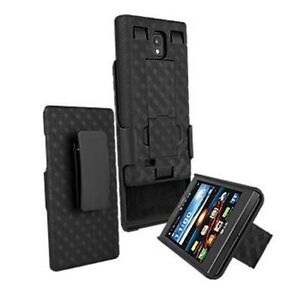 OEM Verizon Belt Clip Shell Holster Case Cover+Stand for LG Spectrum 2 VS930