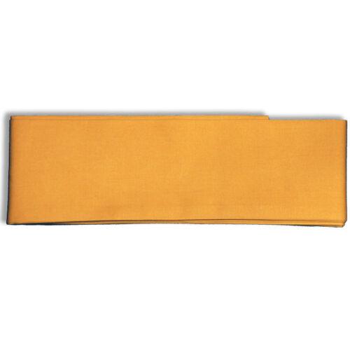 "Japanese 110""L Cotton Belt OBI Sash Kimono Yukata Mustard Yellow"