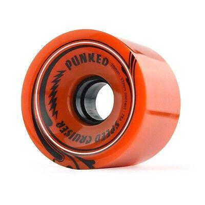 Yocaher Speed Cruiser 70Mm 78A Orange Longboard Wheels