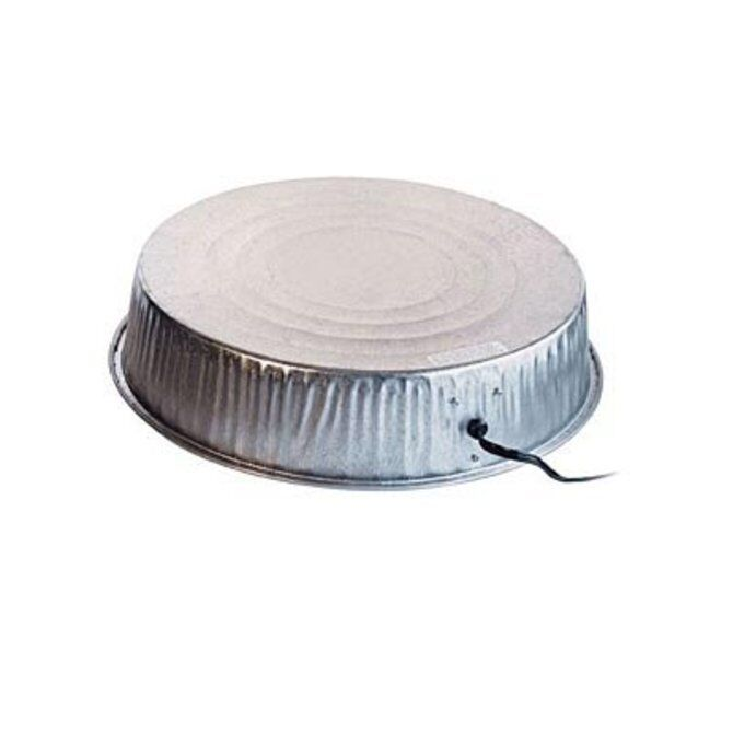 Heated Metal Base for Poultry Fountain Heats Metal Chicken Waterer NEW