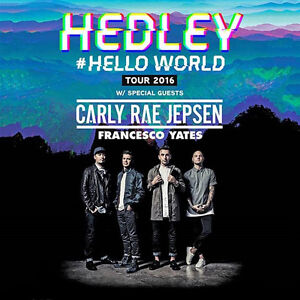 HEDLEY (Tickets 4 SALE!!!) Best Prices Guaranteed!!!