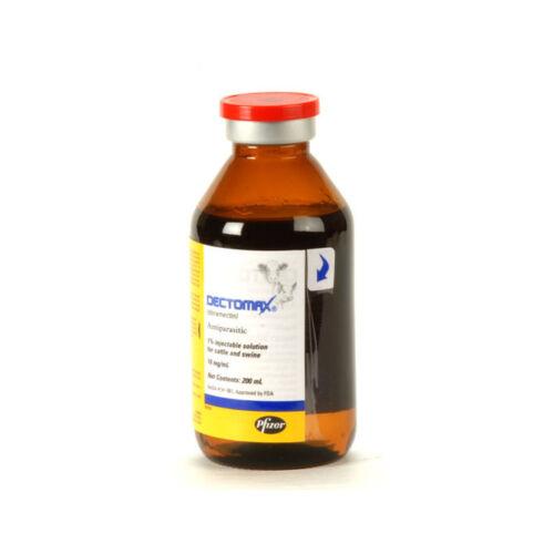 Dectomax 1%  Dewormer Cattle Swine 200ml Zoetis/Pfizer