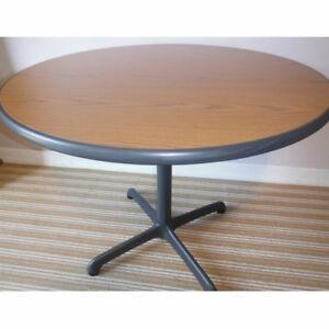 Round Pedestal Table, Delivered