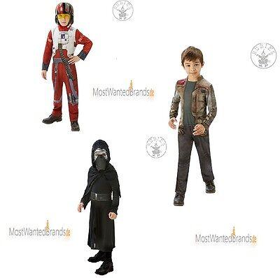 Star Wars * Kinder Classic Kostüme * Kylo Ren, Finn, oder X-Wing Fighter * M + L