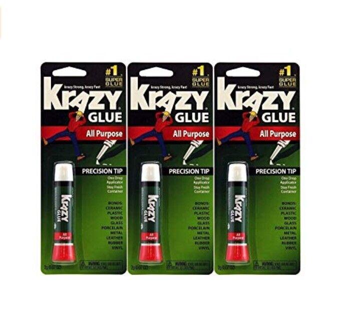 Krazy Glue Elmer's Original Crazy Super Glue All Purpose Ins