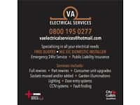 Thanet Electricians. VA Electrical services