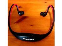 Sports Wireless Bluetooth 4.1 Mic Headphone Headset S9 Stereo Neckband Universal + MICRO SD SLOT