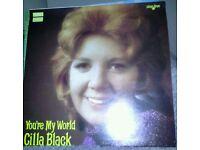 Lp Vinyl Album - Cilla Black - You're My World