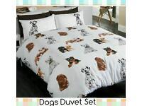 Dogs Duvet Set