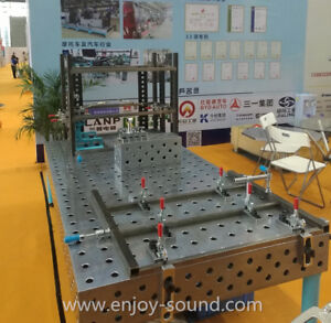 Modular welding table/welding fixture table