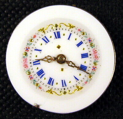 Ladies Old Swiss Pocket Watch movement for restoration