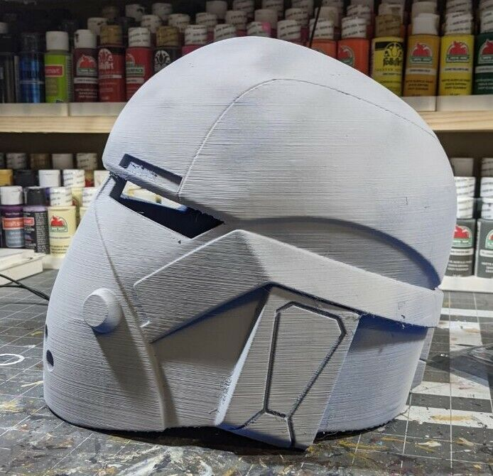 3d Printed Bad Batch Wrecker Clone Style Cosplay Helmet Kit