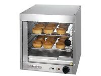 Burco PC20 Heated Hot Food Countertop Pizza Pies Sausage Roll Display Cabinet