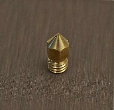 0.2mm Copper Extruder Nozzle Print Head Makerbot Mk8 Craftbot 3d Printer Hot End