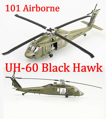 Easy Model 1/72 US UH-60 Black Hawk Midnight Bule 101 Airborne #37016 for sale  Shipping to Canada