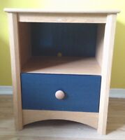 Wooden Night stand / table with drawer