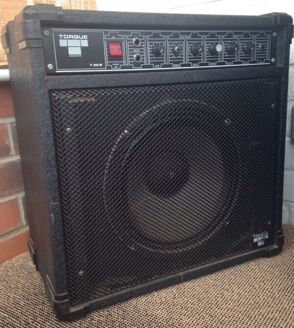torque 50w combo bass amp in york north yorkshire gumtree. Black Bedroom Furniture Sets. Home Design Ideas