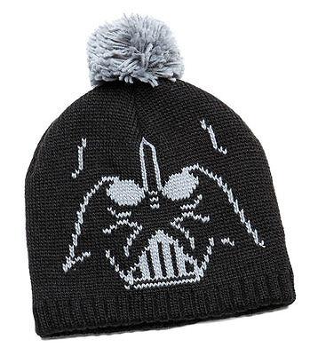 New Star Wars Darth Vader Pom Winter Hat Knit Cap  Beanie - Darth Vader Beanie