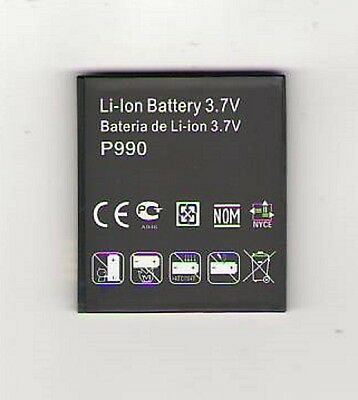 Lot 5 Battery For Lg P990 P999 G2x Optimus 2x Tmobi