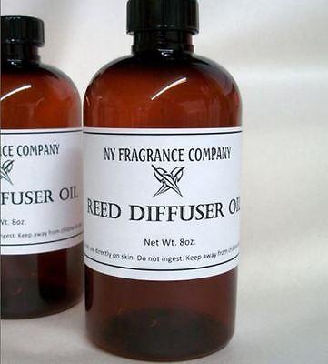Reed Diffuser Scented Oil Refill - ORANGE CREAM FRAGRANCE - 8 oz