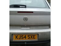 VAUXHALL VECTRA SILVER 2004-54 PLATE GRAB YOURSELF A BARGIN@£300