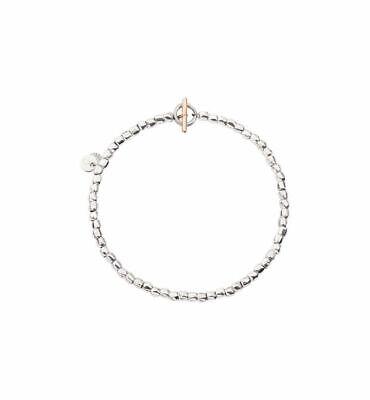 Bracciale Dodo Mini Granelli DBBAC/9/G5A Argento Oro Rosa Bracelet 16 17 18 20