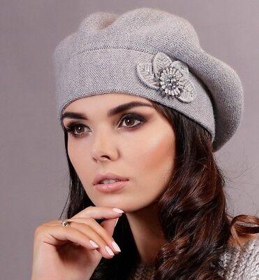 ütze Herbst Winter Beret französische Mütze Baskenmütze Retro (Baskenmütze Französische Mütze)