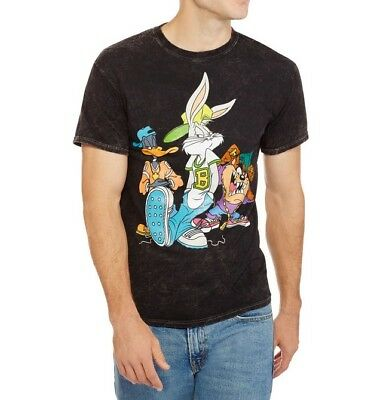 LOONEY TUNES Bugs Bunny Daffy Duck Tasmanian Devil Adult Men's XL T-Shirt BNWT