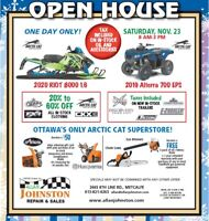 Open House at Allan Johnston Repair & Sales