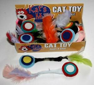 Cat toy Catnip Feather Bulls-eye 25 per box Kitchener / Waterloo Kitchener Area image 1
