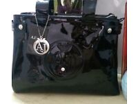 AJ bag & AJ purse set
