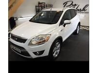 ***2010 FORD KUGA 2.0D TITANIUM (TOP OF RANGE) WHITE*** FORD SERVICE HISTORY***