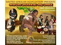 African Drumming and Dance Sessions