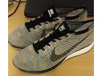 Nike flyknit racer rainbow UK 10