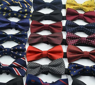 Men Boys Novelty Adjustable Tuxedo Bow Tie Matching Bow Tie Set Wedding - Boys Novelty Ties