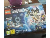 Lego dimensions ps3 starter kit