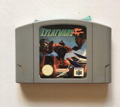LYLAT WARS / STAR FOX N64 NINTENDO 64 CART ONLY Untested