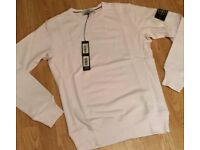 *BRAND NEW WITH TAGS WHITE STONE ISLAND CLASSIC WASHED GARMENT DYED JUMPER XS/S*