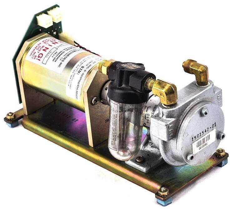 Ampex Air Compressor ASSY 1545716 w/Gast 1033-109 Pump for ER90 Data Tape Drive