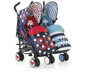 Cosatto Sis & Bro double stroller £100 ONO