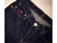 Genuine Vivienne Westwood jeans.