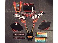 Ktm sx 50 graphics kit decals