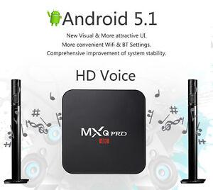 Android TV - MXQ PRO, Warranty/Program/Wizard - 5.1 OS/Kodi 16.1