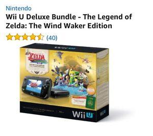 Wii u avec Jeux insérer gratuit