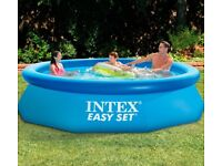 Brand new 10ft intex easy set swimming pool with filter