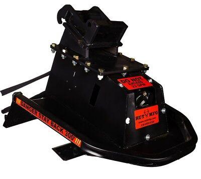 36 Brush Eliminator Mini Excavator Cutter Mower Land Cleanup Usa Made Free Ship