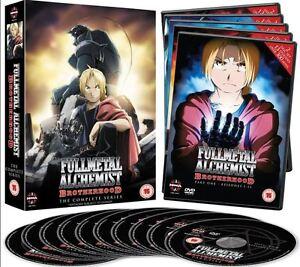 Fullmetal Alchemist Brotherhood 1-64 - The Complete Series 10 DVD Komplett-Box