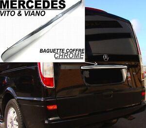 baguette hayon poignee coffre chrome mercedes w639 vito viano 03 14 v6 4matic ebay. Black Bedroom Furniture Sets. Home Design Ideas